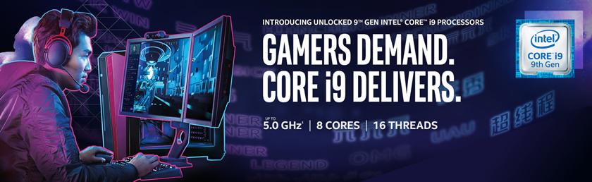 Intel Extreme i9 PCs