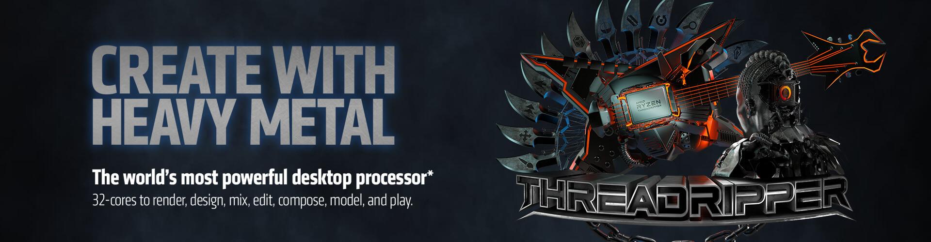 AMD Extreme ThreadRipper PCs