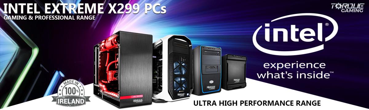 Intel Extreme X299 Gaming PCs