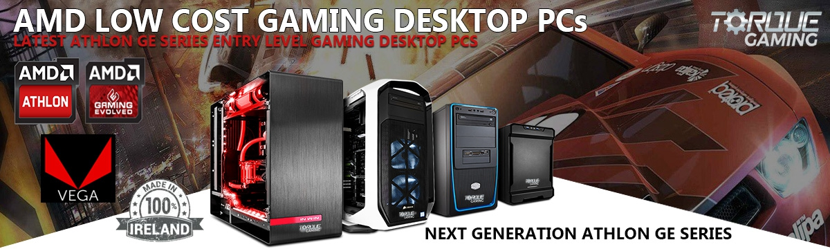 AMD GE Series Gaming PCs