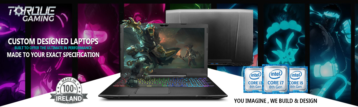Custom Extreme Gaming Laptops