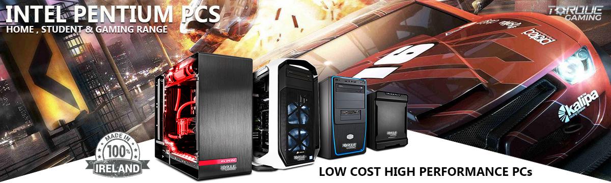 Intel Pentium Gaming PCs