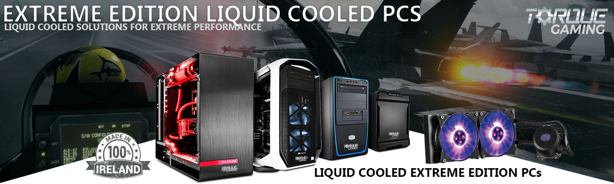 Extreme Liquid Cooled Gaming PCs