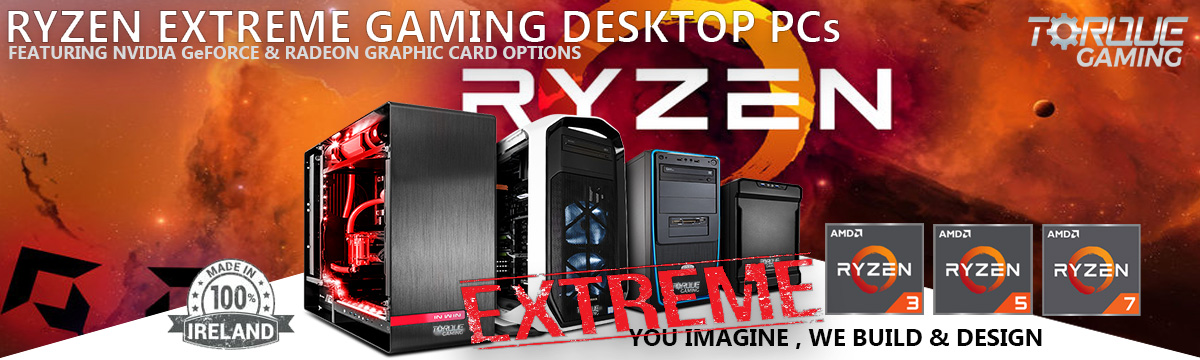 Extreme Edition Ryzen Gaming PCs
