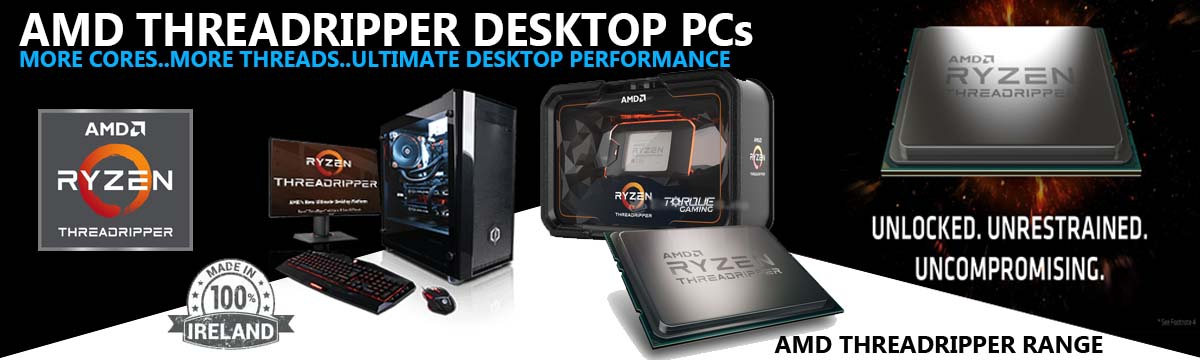 AMD Threadripper PCs