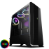 GameMax Aurora Midi Tower with RGB Fans