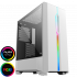 GameMax Solar White RGB with Tempered Glass Panel