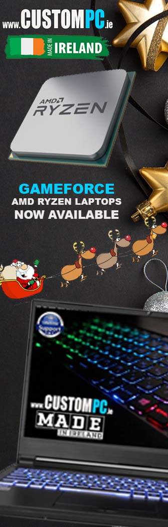 CHRISTMAS GAMING LAPTOP DEALS @ IRELANDS www.CUSTOMPC.ie