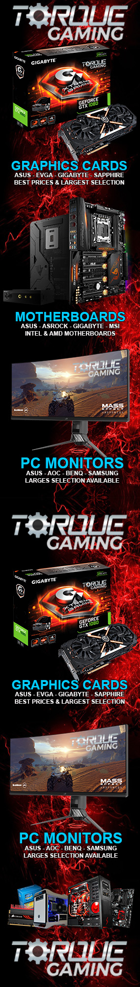 www.TORQUEGAMING.ie IRELANDs GAMING PC SPECIALISTS
